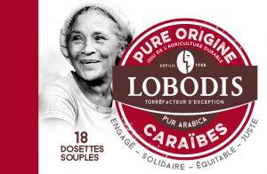 Dosettes café caraibes Lobodis