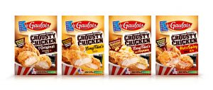 Gamme Crousty Chicken le Gaulois